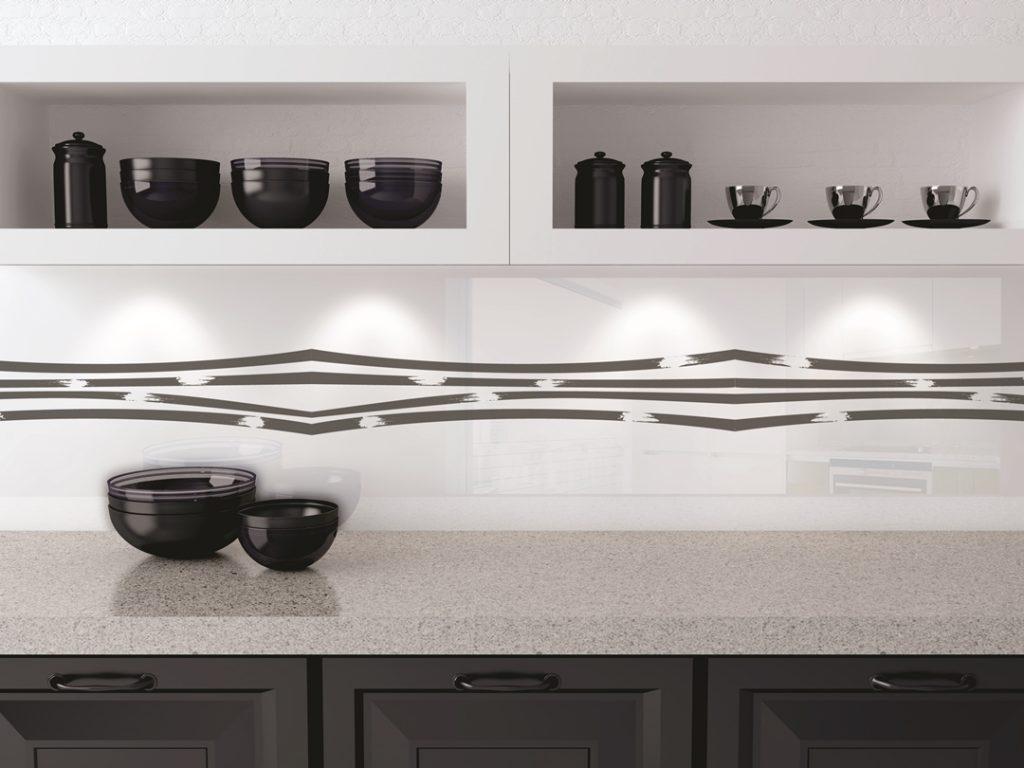 Керамическая печать на стеновой панели, L-Glass, УФ печать, Керамические краски, печать керамикой