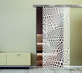 Абстракция, L-Glass, УФ печать, Керамические краски, печать керамикой